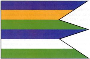 Vlajka Nitrianskeho Rudna