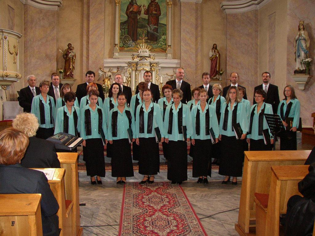 Koncert Chrámového zboru Fraňa Madvu